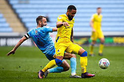 Alex Jakubiak of Bristol Rovers is tackled by Liam Kelly of Coventry City - Mandatory by-line: Robbie Stephenson/JMP - 07/04/2019 - FOOTBALL - Ricoh Arena - Coventry, England - Coventry City v Bristol Rovers - Sky Bet League One