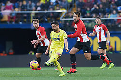 January 20, 2019 - Villarreal, Castellon, Spain - Jaume Costa of Villarreal and Benat Etxeberria of Athletic Club de Bilbao during the La Liga Santander match between Villarreal and Athletic Club de Bilbao at La Ceramica Stadium on Jenuary 20, 2019 in Vila-real, Spain. (Credit Image: © Maria Jose Segovia/NurPhoto via ZUMA Press)