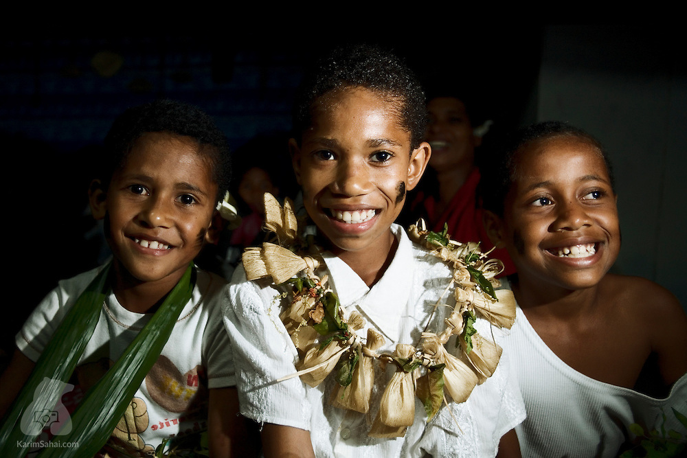 Children of Kadavu island, Fiji.
