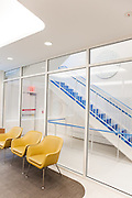 The new Diane Max Health Center of Planned Parenthood in Long Island City designed by architect Stephen Yablon. <br /> <br /> The first floor waiting area.<br /> <br /> Danny Ghitis for The New York Times
