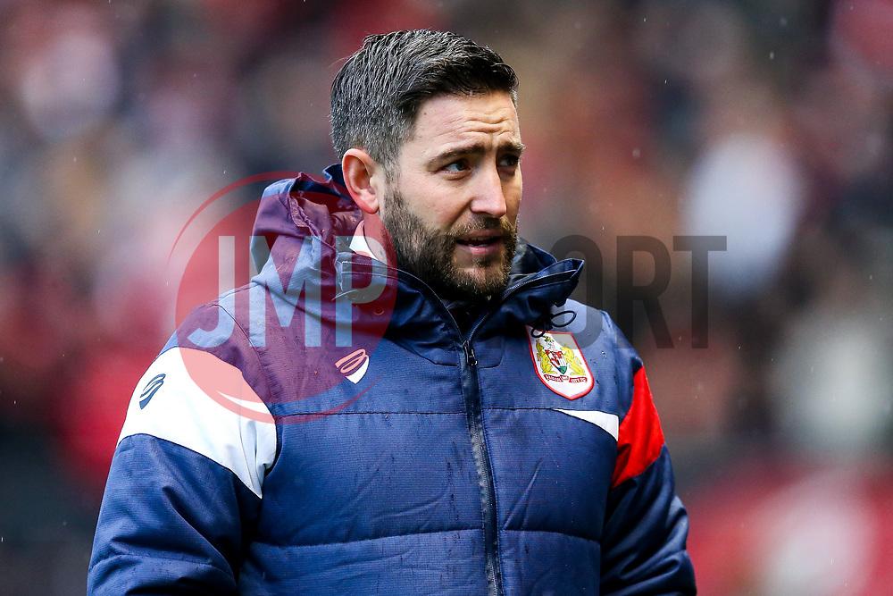 Bristol City Head Coach Lee Johnson looks on - Rogan/JMP - 26/12/2017 - Ashton Gate Stadium - Bristol, England - Bristol City v Reading - Sky Bet Championship.