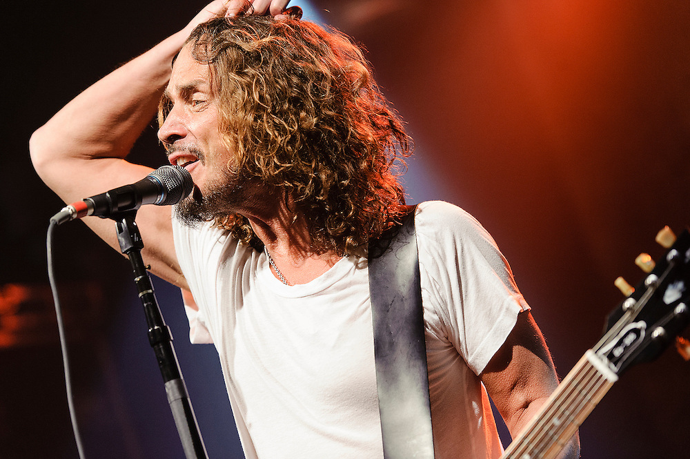 Photos of the rock band Soundgarden performing live at Irving Plaza, NYC. November 13, 2012. Copyright © 2012 Matthew Eisman. All Rights Reserved.