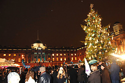 Atmosphere at a Winter Party to celebrate the opening of the Ice Rink at Somerset House, London in association with jewellers Tiffany on 20th November 2007.<br /><br />NON EXCLUSIVE - WORLD RIGHTS