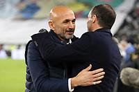 09.12.2017 - Torino - Serie A 2017/18 - 16a giornata  -  Juventus-Inter nella  foto: Massimiliano Allegri e Luciano Spalletti