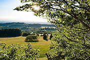 Blick vom Hoherodskopf, Vogelsberg, Hessen, Deutschland | view from Hoherodskopf, Vogelsberg, Hesse, Germany
