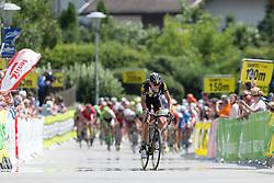 09.07.2015, Matrei, AUT, Österreich Radrundfahrt, 5. Etappe, Drobollach nach Matrei in Osttirol, im Bild Johann van Zyl (RSA, 1. Platz Etappe) // first paced Johann van Zyl of Republic South Africa during the Tour of Austria, 5th Stage, from Drobollach to Matrei in Osttirol, Matrei, Austria on 2015/07/09. EXPA Pictures © 2015, PhotoCredit: EXPA/ Johann Groder
