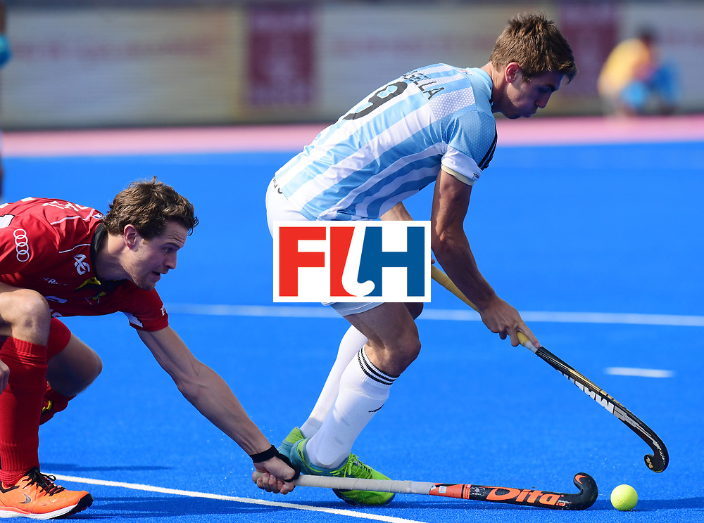 Odisha Men's Hockey World League Final Bhubaneswar 2017<br /> Match id:03<br /> Argentina v Belgium<br /> Foto: Maico Casella (Arg) <br /> WORLDSPORTPICS COPYRIGHT FRANK UIJLENBROEK
