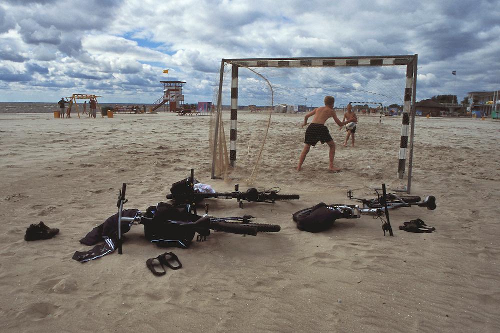 Parno beach in Estonia.