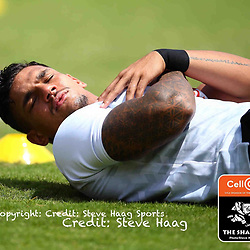 Luke Stringer of the Cell C Sharks during The Cell C Sharks warm up match with the  Vodacom Bulls, at Ashton International College Albertina Way, Dolphin Coast  Ballito - Kwazulu- Natal, South Africa 9th February 2019 (Photo by Steve Haag)
