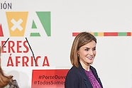 111615 Queen Letizia attends Annual Meeting of the Foundation for Women in Africa