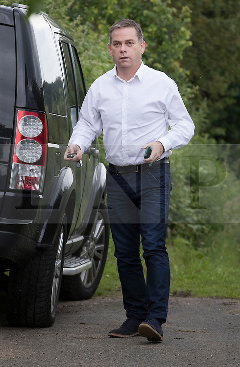 © Licensed to London News Pictures. 26/06/2016. Oxfordshire, UK. MP Nigel Adams arrives at the home of Boris Johnson for a meeting. Prime Minister David Cameron his holding a cabinet meeting tomorrow after announcing his resignation on Friday. The United Kingdom has voted to leave the EU in an historic referendum.  Photo credit: Peter Macdiarmid/LNP