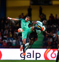 Portugal's Pepe (L) vies the ball with Belgium's Lukaku during a friendly soccer match betweem Portugal and Belgium in preparation for Euro 2016 in France at Leiria Municipal Stadium, Portugal, on March 29, 2016. Portugal won 2-1. EXPA Pictures © 2016, PhotoCredit: EXPA/ Photoshot/ Zhang Liyun<br /> <br /> *****ATTENTION - for AUT, SLO, CRO, SRB, BIH, MAZ, SUI only*****
