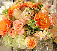 Wedding flowers and bouquets at The Wainwright House, Westchester, New York...The gorgeous arrangements are by Petals by Alice