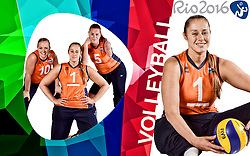 11-09-2015 NED: Photoshoot Zitvolleybalteam  Nederland vrouwen, Doorn<br /> In het Militair Revalidatie Centrum Aardenburg werd het Nederlands Zitvolleybalteam geportretteerd / Elvira Stinissen