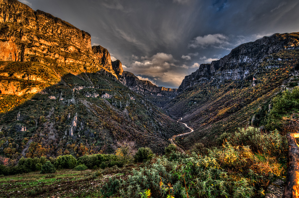 The gorge in Vikos