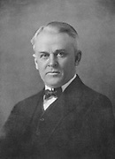 Robert Andrews Millikan (1868-1953) American physicist. 20th century. Awarded Nobel prize for physics in 1923 for determination of charge of electron. In 1925 he coined the term 'cosmic rays'.