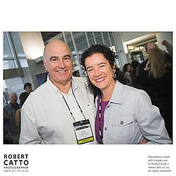 David Gascoigne;Penelope Borland at the Spada Conference 06 at the Hyatt Regency Hotel, Auckland, New Zealand.<br />