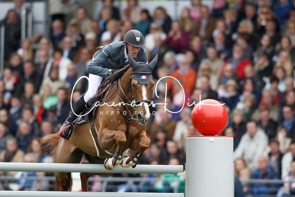 Staut Kevin, (FRA), Reveur de Hurtebise HDC<br /> Rolex Grand Prix, The Grand Prix of Aachen<br /> Weltfest des Pferdesports Aachen 2015<br /> &copy; Hippo Foto - Dirk Caremans<br /> 31/05/15