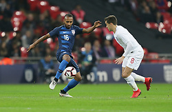 November 15, 2018 - London, England - London, England - Thursday November 15, 2018: The men's national teams of the United States (USA) and England (ENG) play in an international friendly game at Wembley Stadium. (Credit Image: © John Dorton/ISIPhotos via ZUMA Wire)