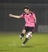 Scotland's Liam Smith - Scotland under 21s v Estonia international challenge match at St Mirren Park, St Mirren. Pic David Young<br />  <br /> - © David Young - www.davidyoungphoto.co.uk - email: davidyoungphoto@gmail.com