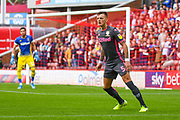 Leeds United defender Ben White (5) during the EFL Sky Bet Championship match between Barnsley and Leeds United at Oakwell, Barnsley, England on 15 September 2019.