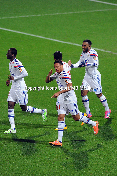 Corentin TOLISSO - 04.12.2014 - Lyon / Reims - 16eme journee de Ligue 1  <br /> Photo : Jean Paul Thomas / Icon Sport