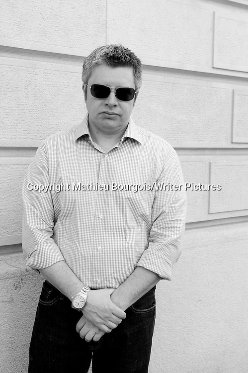 Paul Harding, American musician and author photographed in Paris 13th May 2011<br /> <br /> Copyright Mathieu Bourgois/Writer Pictures<br /> <br /> NO FRANCE