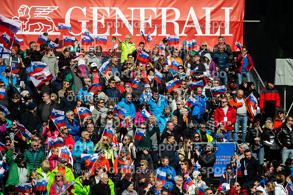Supporters during the Audi FIS Alpine Ski World Cup Men's Slalom 58th Vitranc Cup 2019 on March 10, 2019 in Podkoren, Kranjska Gora, Slovenia. Photo by Matic Ritonja / Sportida