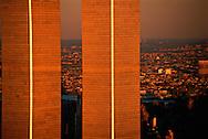 NYC, NY, World Trade Center, Twin Towers, designed by Minoru Yamasaki, International Style II