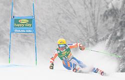 Maarten Meiners (NED) during 1st run of Men's Giant Slalom race of FIS Alpine Ski World Cup 57th Vitranc Cup 2018, on 3.3.2018 in Podkoren, Kranjska gora, Slovenia. Photo by Urban Meglič / Sportida
