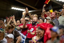Belgian Supporters<br /> World Equestrian Games - Tryon 2018<br /> © Hippo Foto - Dirk Caremans<br /> 15/09/2018
