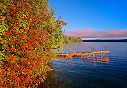 Autumn on Waskasiu Lake<br /> Prince Albert National Park<br /> Saskatchewan<br /> Canada