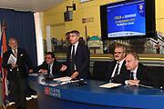 Conferenza Stampa Presentazione Italia Romania 2019 FIBA World Cup Qualifiers<br /> FIP 2017<br /> Torino, 18/10/2017<br /> Foto Ciamillo - Castoria
