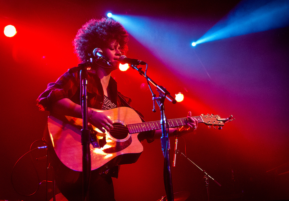 "Chastity Brown performs during Minneapolis Mayor R.T. Rybak's ""Unauguration Party"" at First Avenue, Wednesday, December 18, 2013."