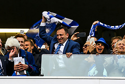 Chairman Tony Bloom celebrates after the match - Mandatory by-line: Jason Brown/JMP - 17/04/2017 - FOOTBALL - Amex Stadium - Brighton, England - Brighton and Hove Albion v Wigan Athletic - Sky Bet Championship