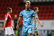 Forest Green Rovers Junior Mondal(25) during the EFL Cup match between Charlton Athletic and Forest Green Rovers at The Valley, London, England on 13 August 2019.