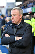 Portsmouth Manager Kenny Jackett during the EFL Sky Bet League 1 match between Portsmouth and Sunderland at Fratton Park, Portsmouth, England on 22 December 2018.