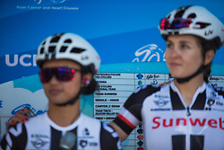 Team Sunweb riders sign on before Stage 3 of the Amgen Tour of California - a 70 km road race, starting and finishing in Sacramento on May 19, 2018, in California, United States. (Photo by Balint Hamvas/Velofocus.com)