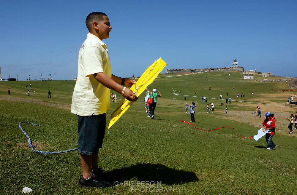 Fly Kites in Puerto Rico