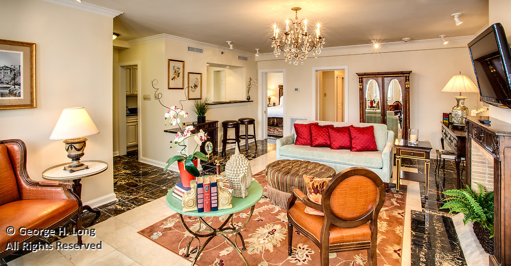 Hotel Mazarin interiors