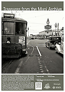 H Line Streetcar at Van Ness and Oak Street | August 23, 1940