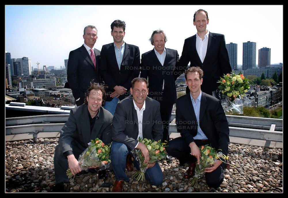 08-05-2006 VOLLEYBAL: PERS PRESENTATIE VOLLEYBALCOACH HEREN: ROTTERDAM<br /> <br /> Nevobo presenteerde vandaag in het Parkhotel de nieuwe technische staf van het Nationaal Mannen Volleybalteam / Peter Blange<br /> <br /> &copy;2006-WWW.FOTOHOOGENDOORN.NL