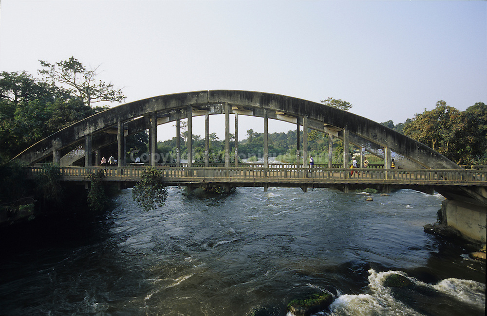 CONCRETE BRIDGE NEAR BRAZZAVILLECONGO