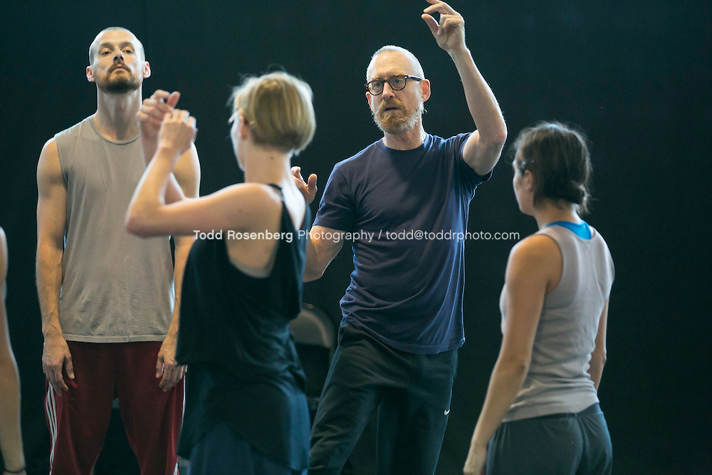 10/2/15 3:43:02 PM -- Hubbard Street Dance Chicago <br /> <br /> Choreographer William Forsythe in studio with the main company. <br /> <br /> . &copy; Todd Rosenberg Photography 2015