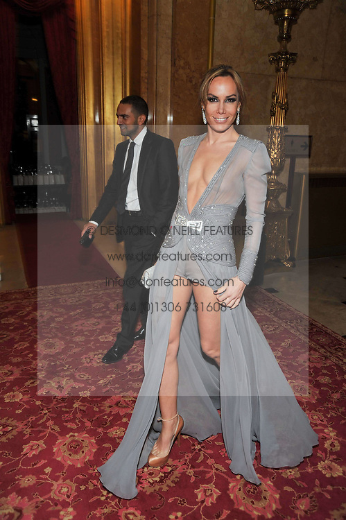 TARA PALMER-TOMKINSON at a party to celebrate 300 years of Tatler magazine held at Lancaster House, London on 14th October 2009.