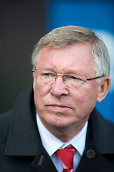BOLTON, ENGLAND - Sunday, September 26, 2010: Manchester United's manager Alex Ferguson before the Premiership match against Bolton Wanderers at the Reebok Stadium. (Photo by David Rawcliffe/Propaganda)