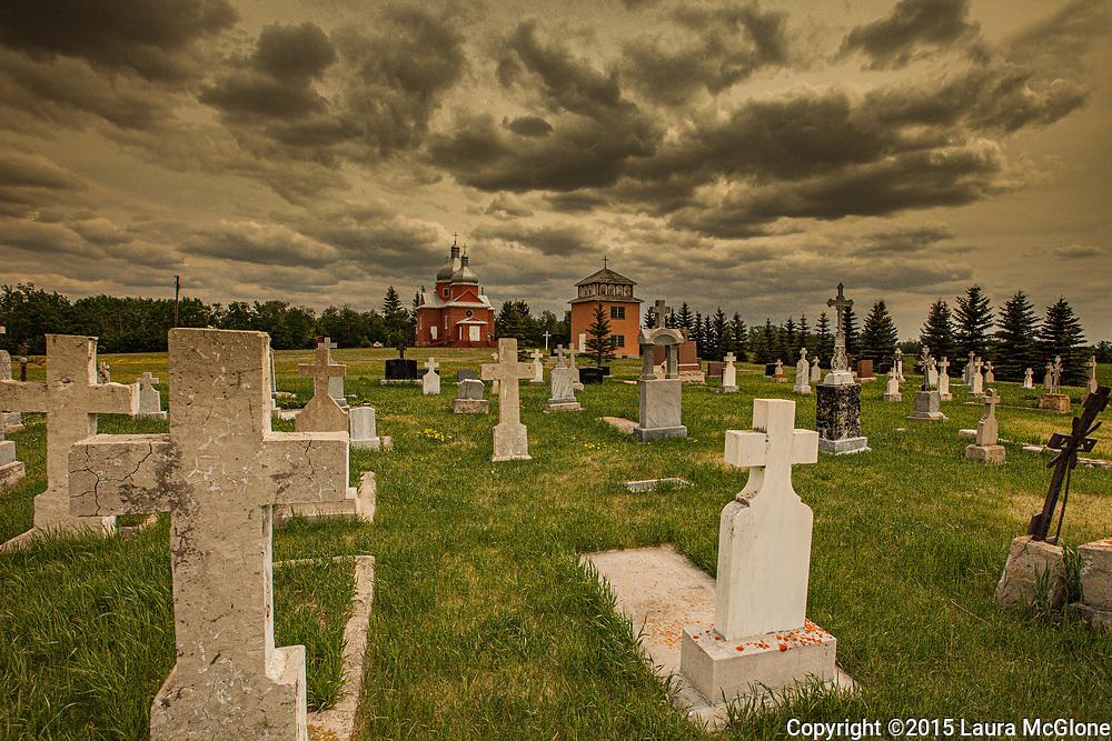 Ukranian Church Cemetery, Alberta Canada