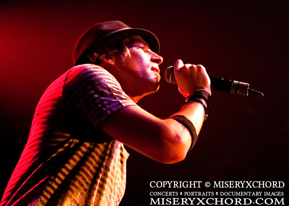 """Marty Casey of Lovehammers performs at the West Coast record release show for their 5th studio album, """"Heavy Crown"""", at Key Club in West Hollywood, California, USA on September 25, 2009."""