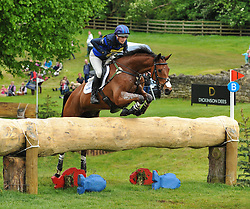Zara Phillips riding High Kingdom during the Bramham International Horse Trials, Bramham Park, Yorkshire.  June 10, 2012. Photo by Nico Morgan/i-Images.