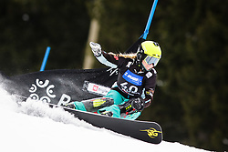 Iva Polanec (SLO) competes during Qualification Run of Women's Parallel Giant Slalom at FIS Snowboard World Cup Rogla 2016, on January 23, 2016 in Course Jasa, Rogla, Slovenia. Photo by Ziga Zupan / Sportida